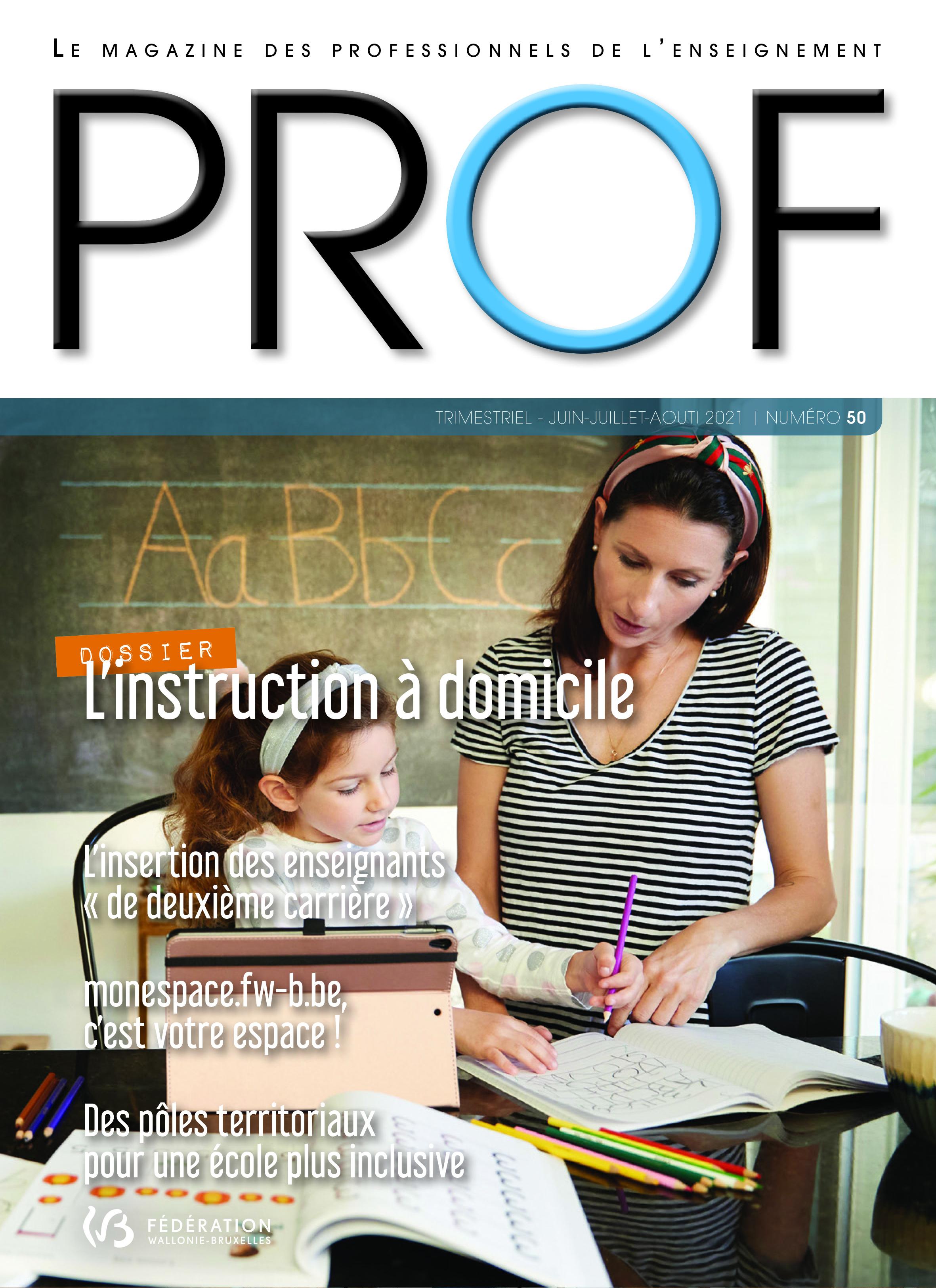 On parle de nous dans le magazine PROF !